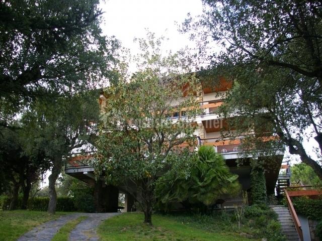 Fachada exterior de la vivienda