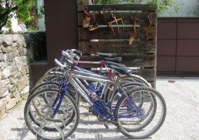 Las bicicletas disponible