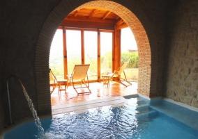 Increíble piscina interior