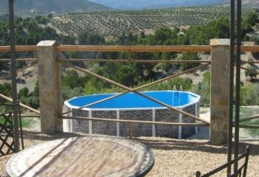 Casas rurales con piscina en castril de la pe a for Piscina la granada