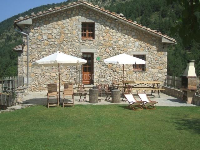 El pla de cal carboner casa rural en sant julia de cerdanyola barcelona - Casa rural sant jaume de frontanya ...