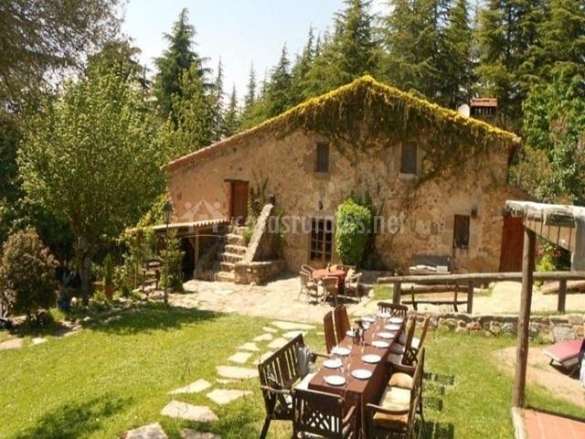 Mas a paradise en llinars del valles barcelona - Casas rurales bcn ...