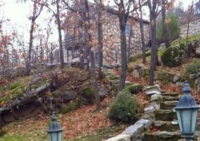 Vistas de los accesos a las viviendas