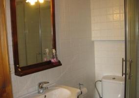 Cuarto de baño del dormitorio doble