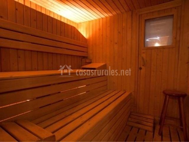 Sauna del spa
