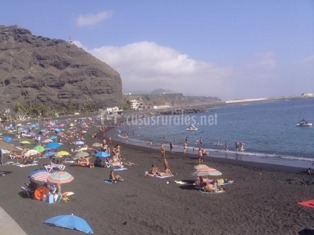 Playa Tazacorte Strand