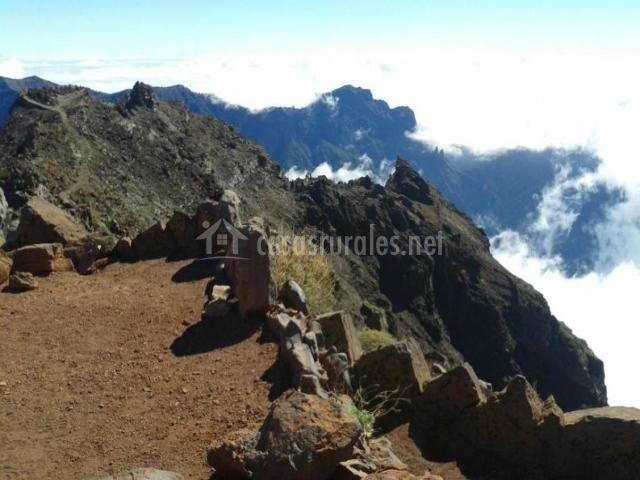 Zona para hacer senderismo de gran altitud