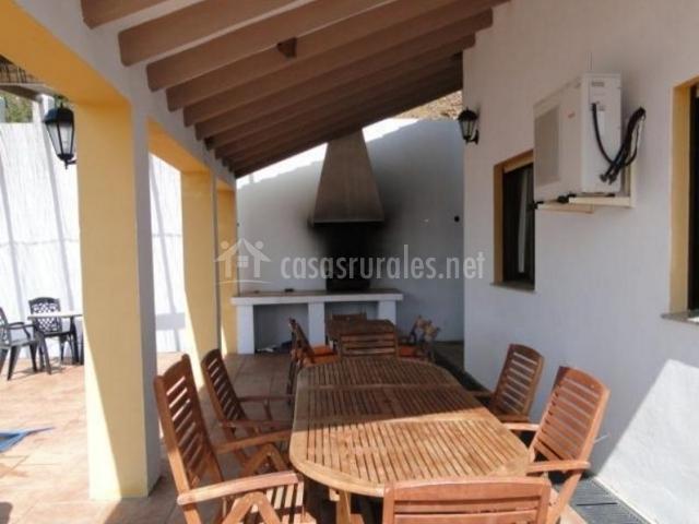 Villa jos en comares m laga - Barbacoa para terraza ...