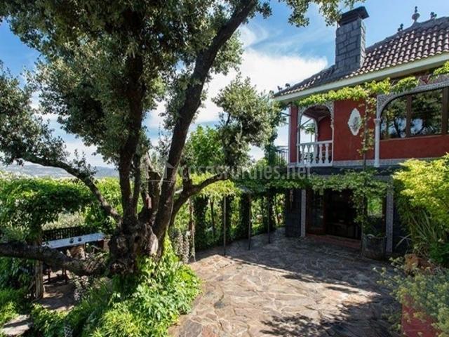 Casa Jardin Oriental En Aldea Del Fresno Madrid