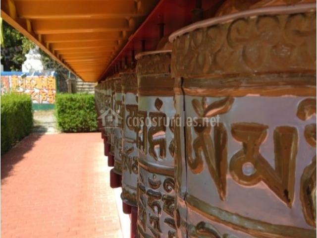 Zona del monasterio budista