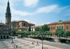 Plaza de España en Santo Domingo De La Calzada