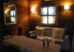 Sala de masaje de la casa rural