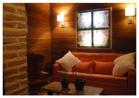 Sofa de la casa rural