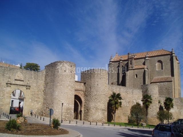 Entrada y fortificaciones de Ronda