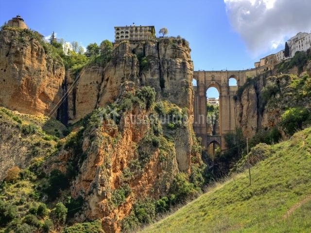 Puente y vistas de Ronda