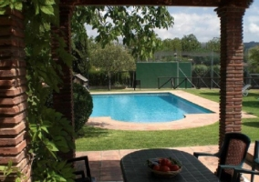 Piscina Larga de la Casa Rural