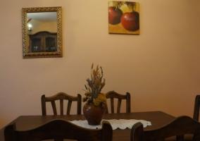 Sala de estar y comedor de gran amplitud