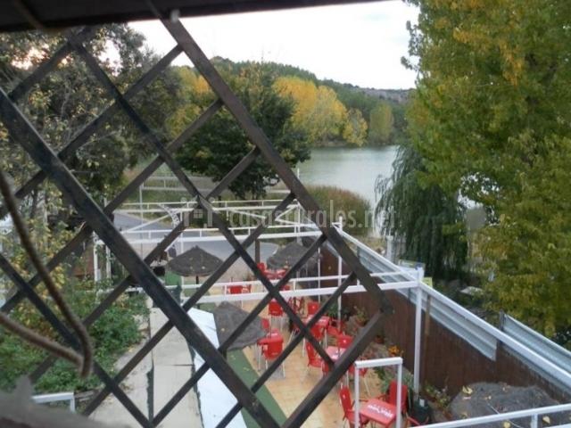 Vista desde el molino