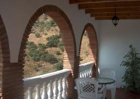 Arcos en la terraza