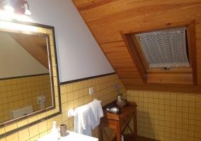 Hab. nº 1 con baño incorporado