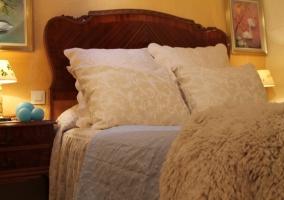 Con cama de matrimonio