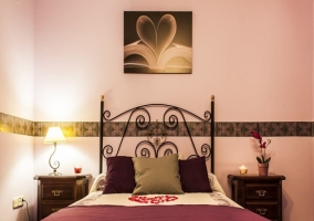 Románticas habitaciones