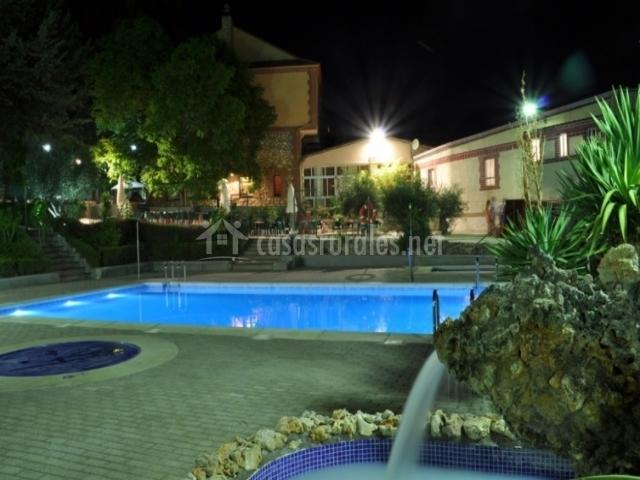 La fuensanta hostal rural hoteles rurales en horche for Hoteles con piscina en guadalajara