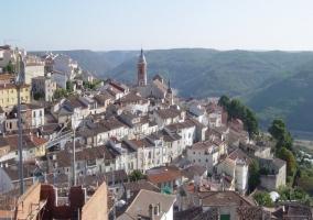 Vista superior de Horche