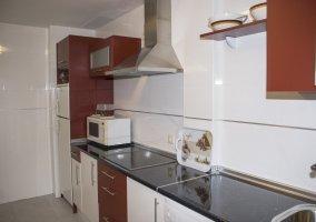 Vista de los electrodomésticos de la cocina