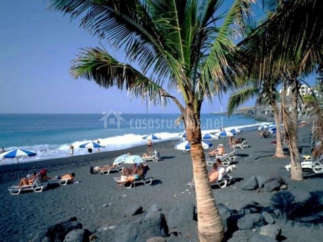 Zona de playas de Tijarafe