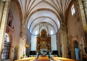 Interior de la Iglesia de San Mateo