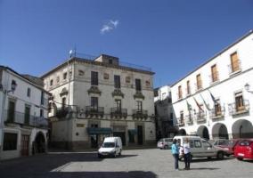 Plaza de España, Montánchez