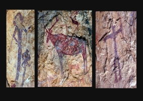 Arte rupestre en el Centro de Interpretación Casa de Cristo