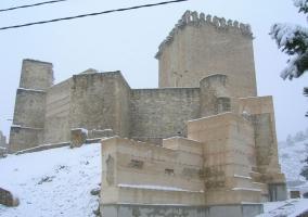 Fortaleza de Moratalla nevada