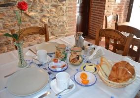 Desayunos caseros