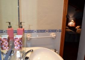 Suite estándar baño