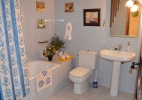 Suite familiar baño
