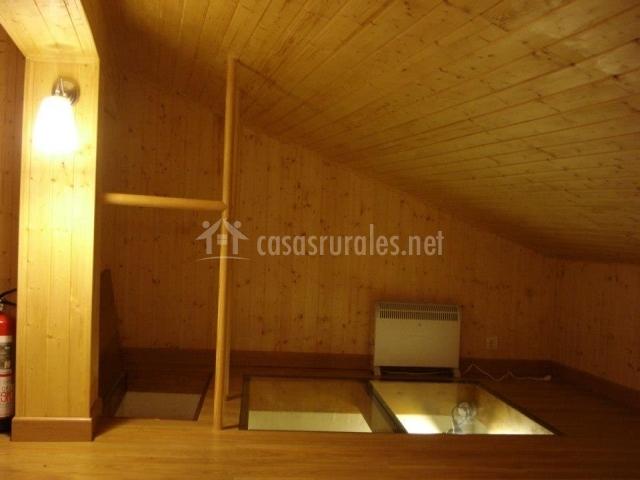 Casa calcita en sasamon burgos - Buhardillas de madera ...