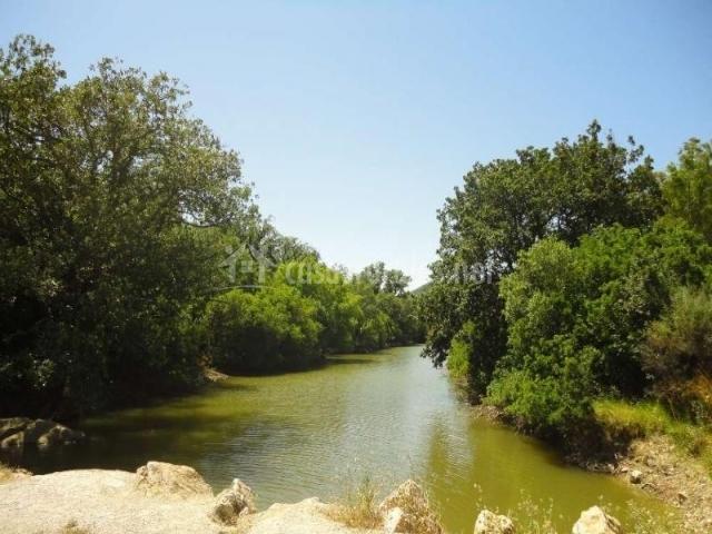 Río junto a la Casa Rural