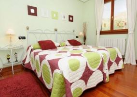 Dormitorio Suite doble con detalles