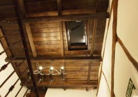 Bonitos techos de madera