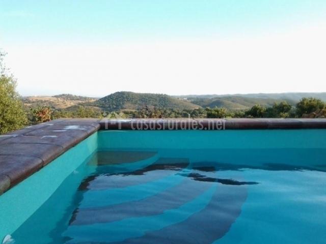 Casa rural las ca adillas en el castillo de las guardas for Casa rural sevilla piscina