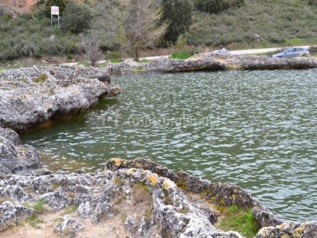 Zona de las lagunas naturales