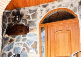 Detalle de la puerta de entrada