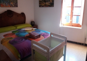 Dormitorio de la casa