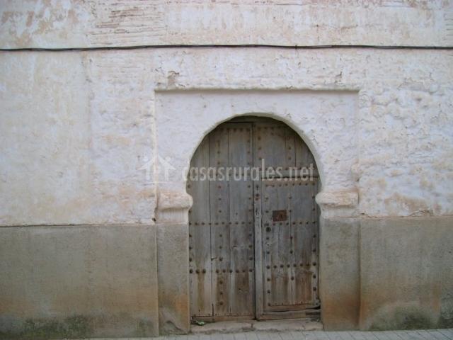 Entrada al palacio de los marqueses de Torremejía del siglo XVI