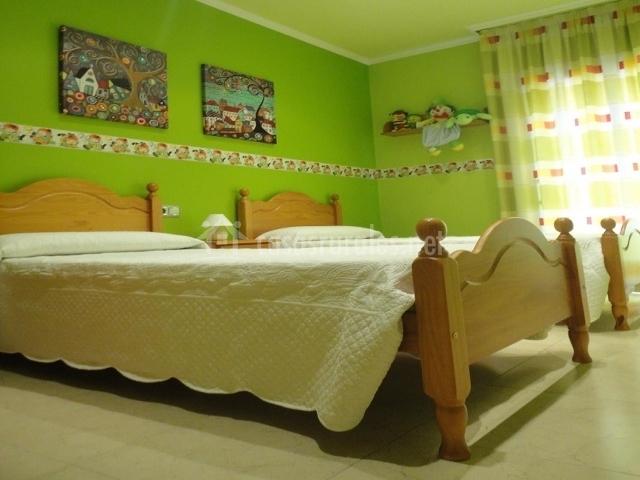 Casa de xerta en xerta tarragona - Dormitorios dobles para ninos ...