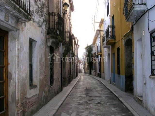 Zona centro con calles