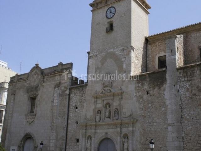Zona de la Basílica de Algemesí