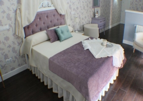 Cama dormitorio El Pajar